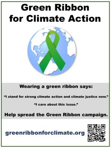 Green ribbon poster 1